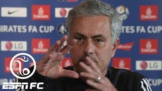 Jose Mourinho goes on 12-minute rant, blames Manchester United's 'football heritage' | ESPN FC