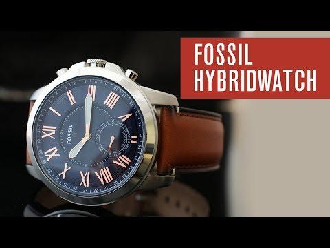 Fossil Q Grant HYBRIDWATCH (Smartwatch) - Test - Review - Deutsch