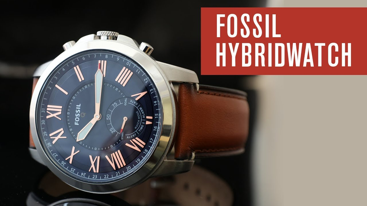 fossil q grant hybridwatch smartwatch test review. Black Bedroom Furniture Sets. Home Design Ideas