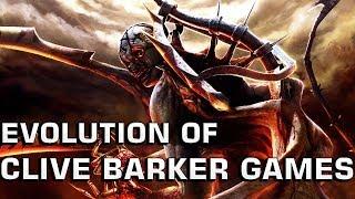 Evolution of Clive Barker Games (1990-2007)