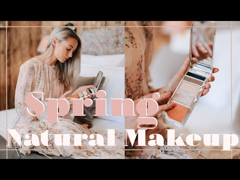 NATURAL SPRING MAKEUP + ZARA & ASOS HAUL // Weekly Vlog