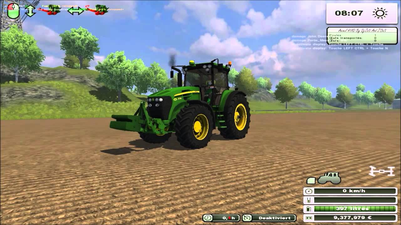 83 test mod tracteur john deere 7930 contre poids - Jeu de tracteur agricole gratuit ...