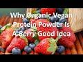 Why Organic Vegan Protein Powder Is A Berry Good Idea