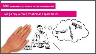 "explainity® Erkärvideo: ""Living a day without aviation and space travel."" - BDLI"