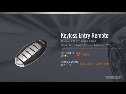 Dorman 99354 Keyless Entry Transmitter for Select Chevrolet Models OE FIX Black