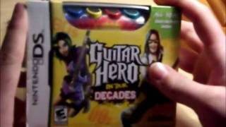 Guitar Hero On Tour Decades Unboxing