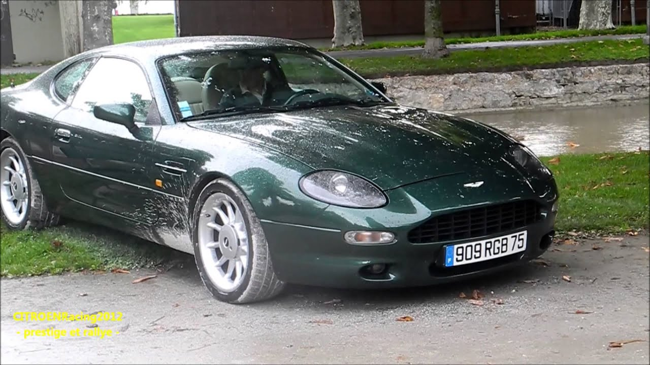 aston martin db7 2000 335 hp - start up / sound - [hd] - youtube