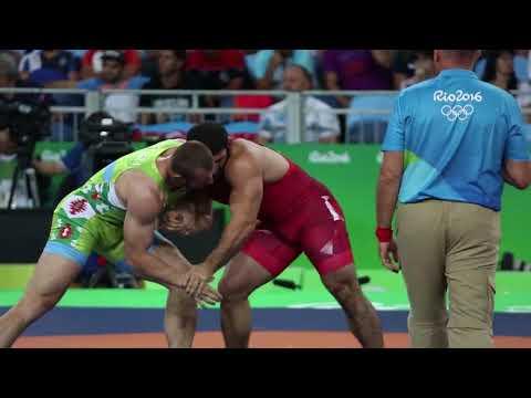 Revaz Nadareishvili - Rio 2016 Olympic Greco Roman Wrestling 98kg