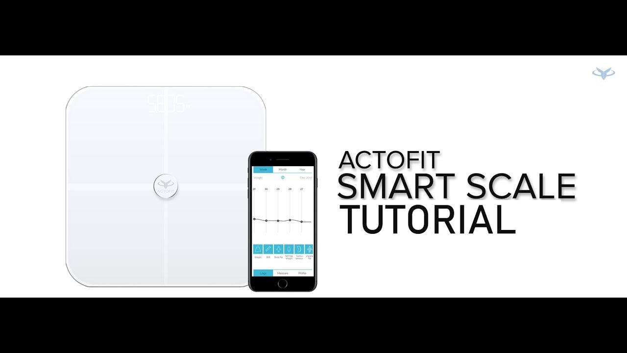 Actofit SmartScale - Smart Weighing Scale for Body