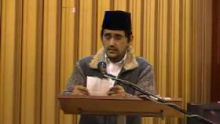 Nazm - Rafi Ahmad Khan sahib Newham