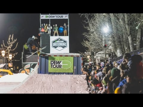 2015 Dew Tour Streetstyle Video Recap | TransWorld SNOWboarding