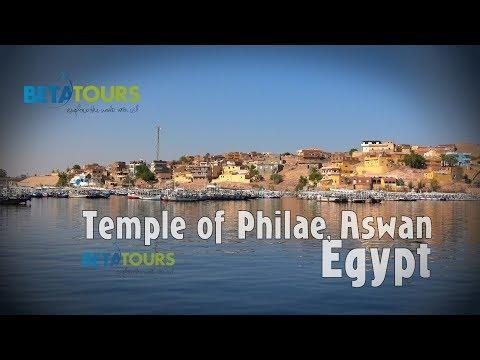 Temple of Philae, Aswan, Egypt travel guide 4K bluemaxbg.com