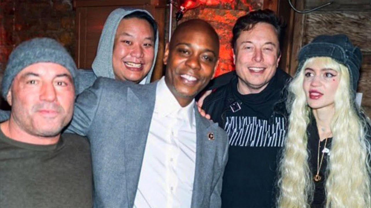 Dave Chappelle photographed with Elon Musk, Joe Rogan before ...