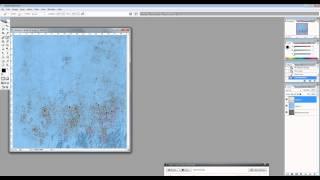 Создаем текстуру с выпуклыми каплями краски
