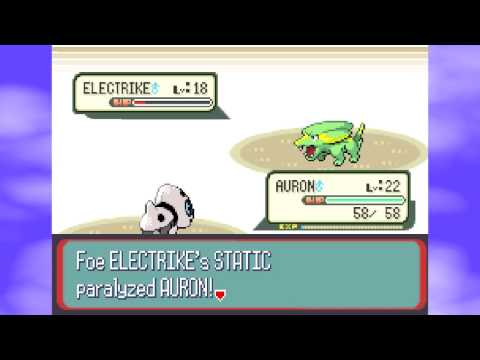 Pokémon Sapphire (Blind) Part 18: Electric Buttclenching