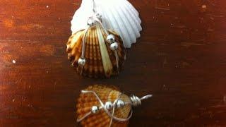 Easy Seashell Wire Wrap