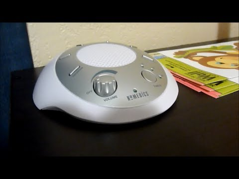 Review Of Homedics White Noise Soundspa Portable Sound