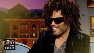 Lenny Kravitz & Slash Ruled Beverly Hills High Video