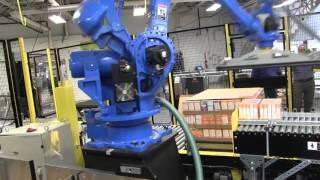 Вакуумный гриппер JOULIN на фасовочной сортировочной линии(Роботы-перекладчики с вакуумными захватами (гриппер). НАШИ САЙТЫ:..., 2016-04-13T09:33:57.000Z)