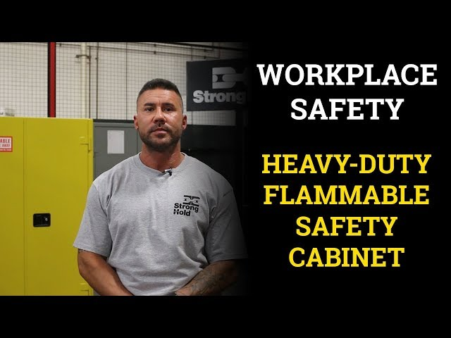 Workplace Safety: Introducing the Heavy-Duty Flammable Safety Cabinet