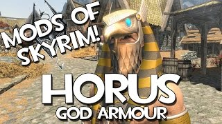 Mods of Skyrim - Horus God Armour!