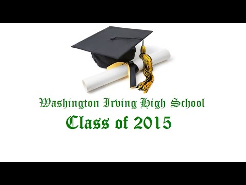 Washington Irving High School Graduation 2015