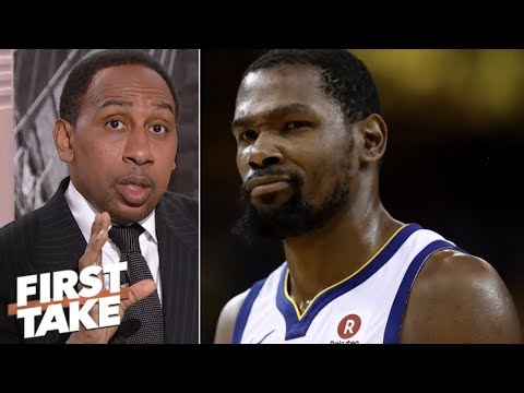 Stephen A.: Kevin Durant hates being called sensitive because he is l First Take