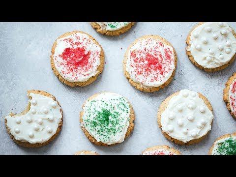 Soft Almond Flour Sugar Cookies (paleo & gluten free!)