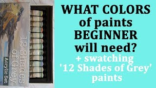 What colors of paints a beginner will need for coloring? My favorite colors