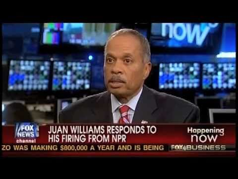 Juan Williams: First Comments After Being Fired by NPR!