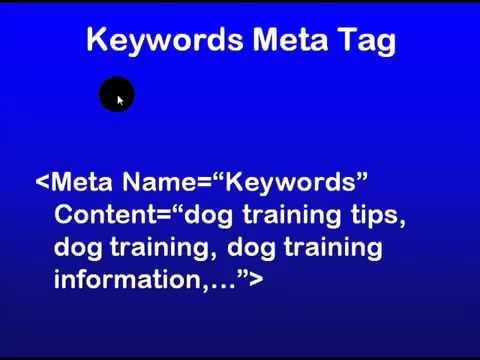 7 - SEO Education 101 Understanding Meta Tags