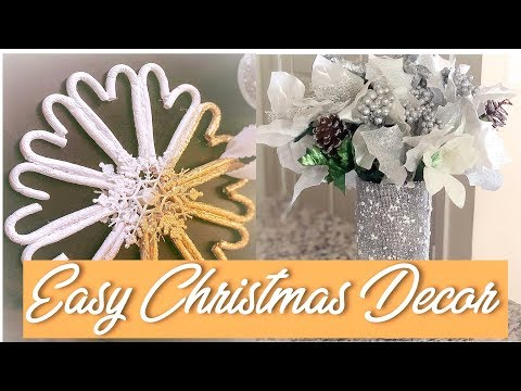 DIY Dollar Tree Candy Cane Wreath/How To Decor