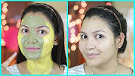 Homemade face pack for glowing bright skin/ face mask for combination skin
