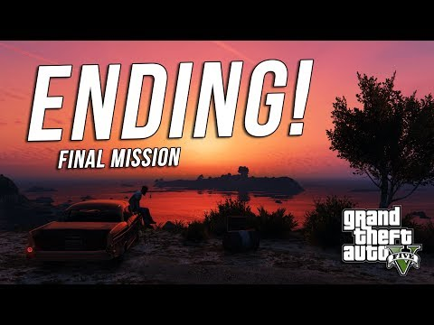 Grand Theft Auto 5 Ending! & Final Mission! - (GTA 5 MALAYSIA) - GTA 5 STORY MODE | PART 30