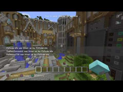 Minecraft Minigames Invisible Glitch 2017 Ps4/Xbox