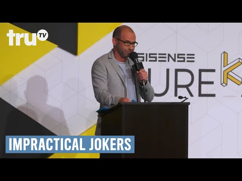 Impractical Jokers - Murr's Gassy Speech (Punishment) | TruTV