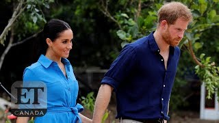 Harry And Meghan Get The Giggles In Tonga