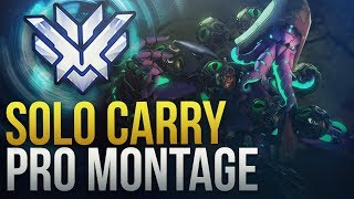 When Pros Solo Carry #1 - Overwatch Montage