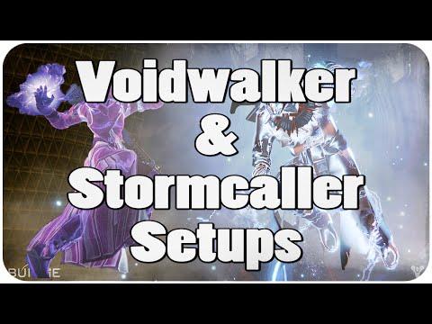Destiny voidwalker amp stormcaller setups sunsinger nerfed