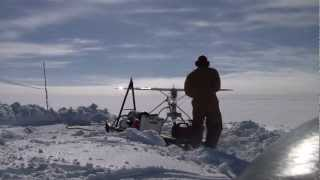 Chasing the rays of the sun: Measuring snow albedo