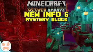 Nether Update Snapshots SOON! | Secret Blocks & News (Minecraft 1.16)
