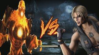 Mortal Kombat 9 Blaze