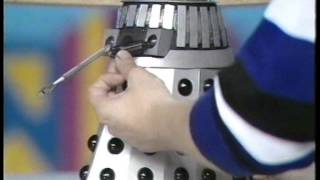 Doctor Who - Blue Peter - Stuart Evans model Daleks