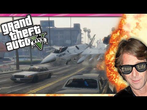 GTA 5 PC Funny Moments Explosions Stunts & Guns! (GTA Online PC Funny Moments)
