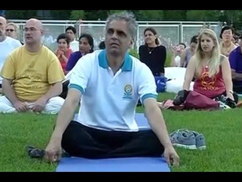 International Yoga Day: India