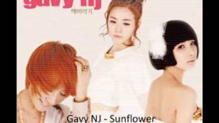 Gavy NJ ft MJ of Sunny Side - Sunflower Instrumental with Rap