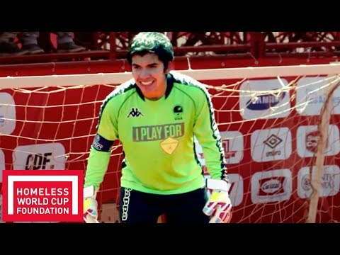 """""""Homelessness Is Not Who We Are, We Can Change It!"""" USA Goalkeeper Ricardo Delgado 