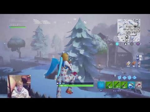 Playing with MindofRez LOL  (Fortnite Battle Royale)