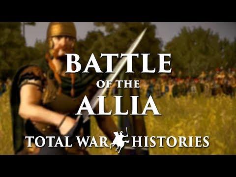 Battle of the Allia : WARS OF THE ROMAN REPUBLIC (Part 2)