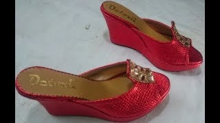 how to make shoe with high heel (part 2)
